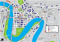 Brisbane Hotel Map