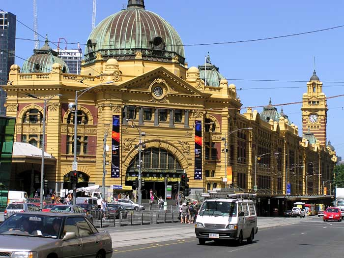 Flinders Street Railway Station Photo Copyright not to be used without permission