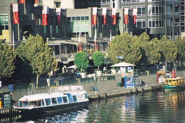 River Boat Cruises Moored At Southgate Complex
