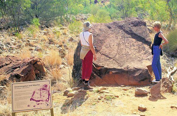 Petroglyphs - Ndhala Gorge