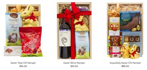 Little Luxury Easter hampers and gifts